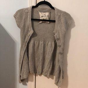 Knit Short Sleeve Cardigan!